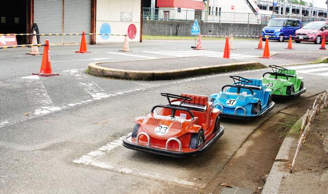 【ゴーカートが1回50円で遊べる!】貝塚交通公園で交通ルールを学ぼう